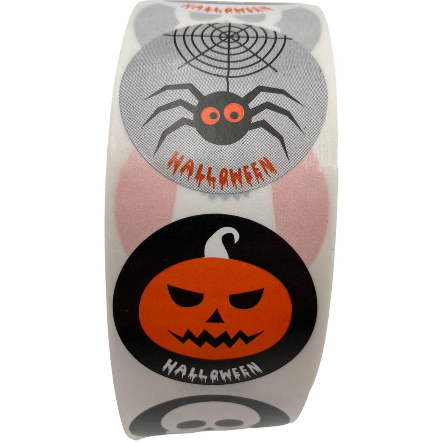 Etiqueta Halloween X10
